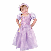 Disfraz Rapunzel Bebe, Talla 12 A 18 Meses.nuevo
