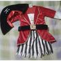 Disfraz De Pirata Para Niñas (talla 6 A 12 Meses)