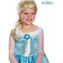 Peluca Elsa Frozen Disfraz
