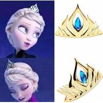 Accesorios Tiara Corona Peluca Guantes Para Disfraz Frozen
