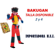 Disfraz De Bakugan Disfraces Carnaval