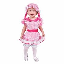 Disfraz Muñeca De Trapo Niñas, Talla 2 Y Talla 4, Nuevos