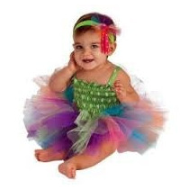 Disfraz De Rainbow Tutu Talla 6-12 Meses