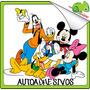 Vinilos Osandme Decora Infantil Mickey Minnie Pluto Pato Don