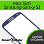 Mica Tactil Samsung S3 I9300 Blanca,azul Y Negra Original