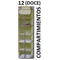 Aereo Organizador Sujetador Ropa Y Zapatos Plegable Portatil