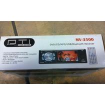 Reproductor Para Vehiculos Marca Dti Car Audio Mv-3500