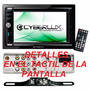 Reproductor De Pantalla Auto, Cámara De Retroceso Cyberlux