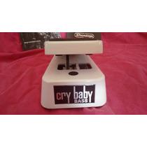 Pedal Para Bajo Dunlop Cry Baby Wah Bass