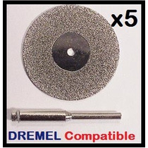 Disco Diamante 2.5cm - Fresador Compatible Dremel Makita Y +