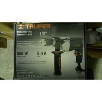 Taladro Rotomartillo 1/2, Industrial 650w Marca Truper