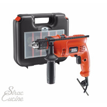 Taladro Percutor Black&decker Tm605k De 600w