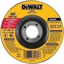 Disco Corte Metal 4 1/2 X 0.45 X 7/8 Dewalt Extrafino
