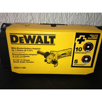 Esmeril Dewalt 4 1/2 Con Maletin Y 15 Discos