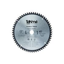 Disco De Sierra Circular Takima 12 Madera 60 Y 40 Dientes