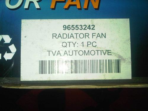 Electro Ventilador Motor Chevrolet Optra