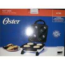 Tosty Arepa Oster 4 Cavidades Modelo 4795 (cromada) Nuevo!!!