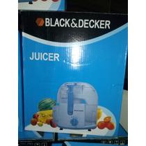 Extractor De Jugos Black&decjer Mod. Je2060