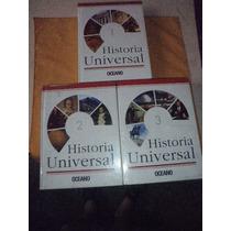 Enciclopedia - Historia Universal - Oceano - Tres Tomos