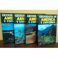 Enciclopedia Geografia De America Y Universal
