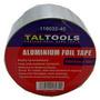 Teipe Papel Aluminio Aluminium Foil Tape 40 M Autoadhesiva