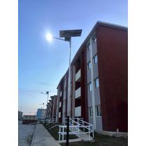 Luminaria Led 42w+modulo Panel Solar+bateria+regulador