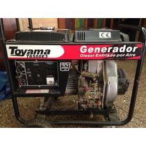 Planta Electrica A Gasoil Toyama T6500