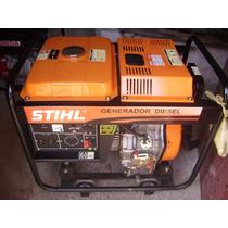 Planta Generador Eléctrico Stihl 13kva A Gasoil Nueva