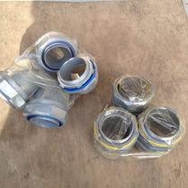 Conectores Curvos Y Rectos Para Liquid Tight De 1 Y 2