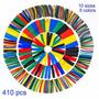 Combo Termoencogible 410 Unidades - 5 Colores 10 Medidas