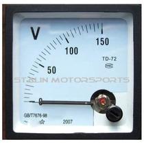Reloj Voltimetro Panel 0 A 150 Volt Ac Generador 110 100 120