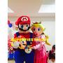 Show Animaciòn Muñecos Super Mario Bros Mickey Doky Barney