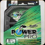 Multifilamento Spectra Power Pro 20 Lbs 300 Yds Moss Green