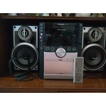 Equipo De Sonido Panasonic Usado De 5 Cd`s Y Cassette...