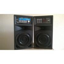 Equipo De Sonido Amplificado Radio Fm, Mp3, Sd, Usb, Karaoke