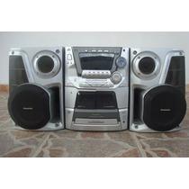 Equipo De Sonido Minicomponente Panasonic Sa-ak33