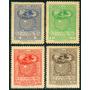 Estampillas De Bolivia Serie 4 Val 1950 Día Naciones Unidas