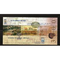 Israel 1995 Jerusalem 3000 Con Tabs