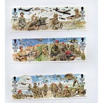 Isle Of Man 1992 Sc# 499-504 6v Paracaidistas