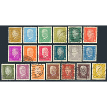 Estampillas Alemania Serie De 19 Valores 1928 - 1932