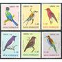 Estampillas Mozambique Serie 6 Val De 1978 - Fauna Aves