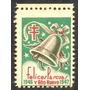 Estampilla Venezuela Viñeta Felices Pascuas Y Año Nuevo 1946