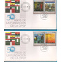 Venezuela 5 Sobres 1er. Día 50 Aniversario Opep 2010