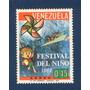 Ji Estampilla Festival Del Niño 1967