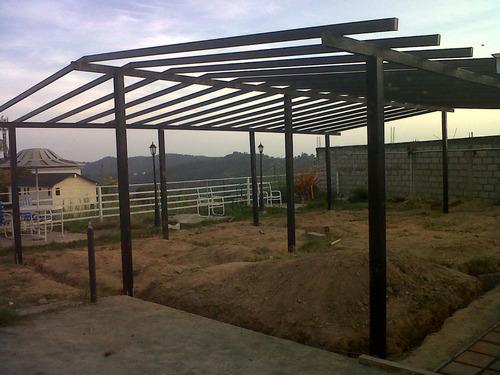 Estructuras Metalicas Para Viviendas O Casas