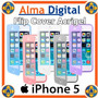 Flip Cover Gel Iphone 5 5s Estuche Forro Protector Goma