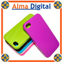 Forro Acrigel Iphone 4g Tipo Manguera Estuche Protector Goma