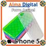 Forro Acrigel Iphone 5 Tipo Manguera Estuche Protector Goma