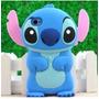 Forro Goma Estuche Stich Disney Original Iphone 4 4s