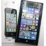 Forro Gel + Lamina Protectora Nokia Lumia 1520